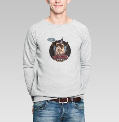 Кот Тард - Купить мужские свитшоты с кошками в Москве, цена мужских  с кошками  с прикольными принтами - магазин дизайнерской одежды MaryJane