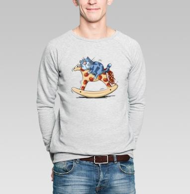 Кот в сапогах - Купить мужские свитшоты со сказками в Москве, цена мужских свитшотов со сказками  с прикольными принтами - магазин дизайнерской одежды MaryJane