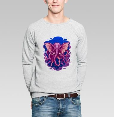 Кракен - Купить мужские свитшоты с йогой в Москве, цена мужских свитшотов с йогой  с прикольными принтами - магазин дизайнерской одежды MaryJane