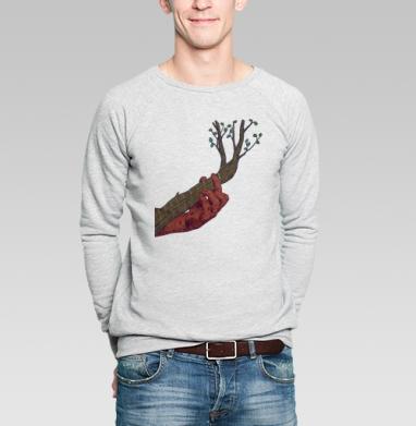 Красная рука - Купить мужские свитшоты с летом в Москве, цена мужских  с летом  с прикольными принтами - магазин дизайнерской одежды MaryJane