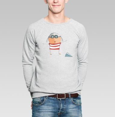 Летчик - Купить мужские свитшоты с людьми в Москве, цена мужских  с людьми  с прикольными принтами - магазин дизайнерской одежды MaryJane