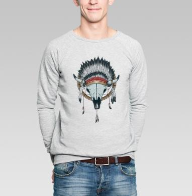 Ловец снов - Купить мужские свитшоты с индейцами в Москве, цена мужских  с индейцами  с прикольными принтами - магазин дизайнерской одежды MaryJane