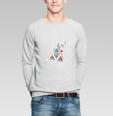 Молоко - Купить мужские свитшоты СССР в Москве, цена мужских  СССР  с прикольными принтами - магазин дизайнерской одежды MaryJane