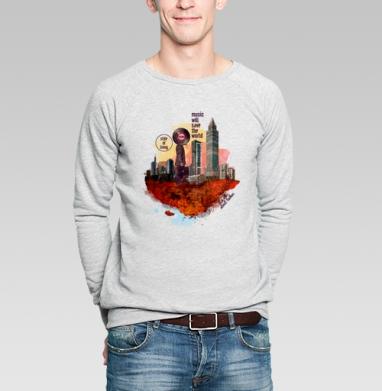 MWSTW - Купить мужские свитшоты с городами в Москве, цена мужских свитшотов с городами  с прикольными принтами - магазин дизайнерской одежды MaryJane