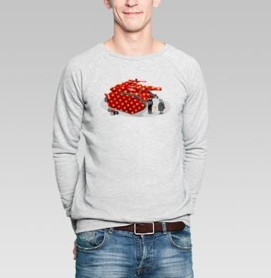 Panzer - Купить мужские свитшоты с оружием в Москве, цена мужских свитшотов с оружием  с прикольными принтами - магазин дизайнерской одежды MaryJane