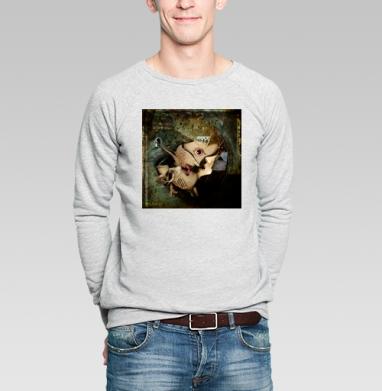 Поцелуи - Купить мужские свитшоты с лицом в Москве, цена мужских свитшотов с лицом  с прикольными принтами - магазин дизайнерской одежды MaryJane