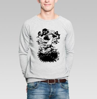 Poisonous fungus - Купить мужские свитшоты с грибами в Москве, цена мужских свитшотов с грибами с прикольными принтами - магазин дизайнерской одежды MaryJane