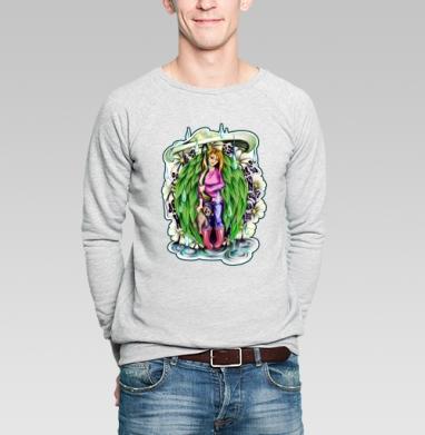 Природная - Купить мужские свитшоты с грибами в Москве, цена мужских свитшотов с грибами с прикольными принтами - магазин дизайнерской одежды MaryJane