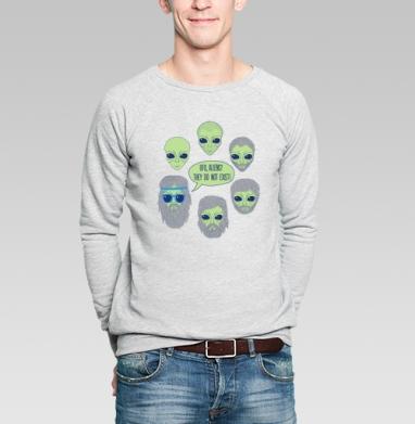Пришельцы - Купить мужские свитшоты с лицом в Москве, цена мужских  с лицом  с прикольными принтами - магазин дизайнерской одежды MaryJane