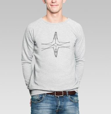 Руки/ноги - Купить мужские свитшоты с йогой в Москве, цена мужских свитшотов с йогой  с прикольными принтами - магазин дизайнерской одежды MaryJane