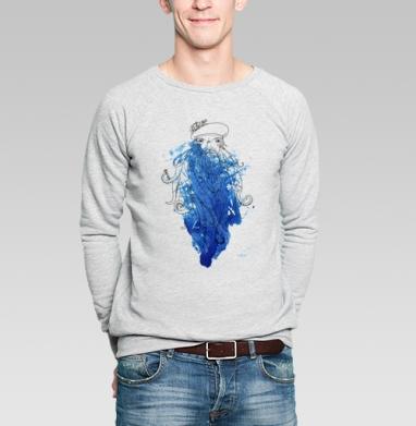 Синяя Борода - Купить мужские свитшоты с бородой в Москве, цена мужских свитшотов с бородой  с прикольными принтами - магазин дизайнерской одежды MaryJane