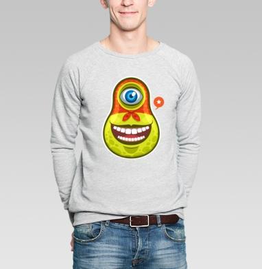 Space Matryoshka - Купить мужские свитшоты Россия в Москве, цена мужских  Россия  с прикольными принтами - магазин дизайнерской одежды MaryJane