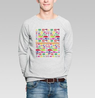 SUPER CARS - Купить мужские свитшоты с автомобилями в Москве, цена мужских свитшотов с автомобилями  с прикольными принтами - магазин дизайнерской одежды MaryJane