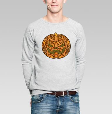 Тыковка - Купить мужские свитшоты с геометрическим рисунком в Москве, цена мужских свитшотов с геометрическим рисунком  с прикольными принтами - магазин дизайнерской одежды MaryJane