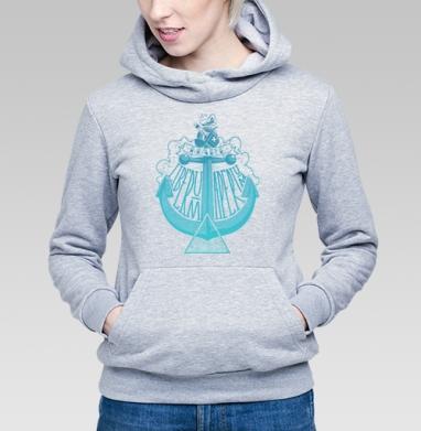 Море открыто для всех - Купить детские толстовки хипстерские в Москве, цена детских толстовок хипстерских  с прикольными принтами - магазин дизайнерской одежды MaryJane