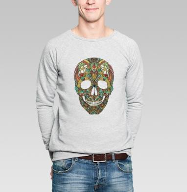Череп - Купить мужские свитшоты с черепом в Москве, цена мужских  с черепом  с прикольными принтами - магазин дизайнерской одежды MaryJane