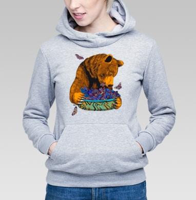 Гризли и бабочки - Купить детские толстовки с едой в Москве, цена детских толстовок с едой  с прикольными принтами - магазин дизайнерской одежды MaryJane