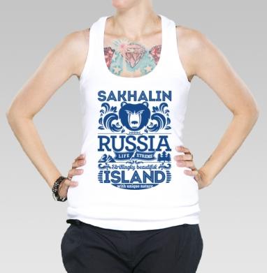 Борцовка женская белая рибана 200гр - Сахалин. Россия.