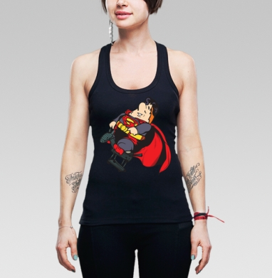 Super Karl - Майки на заказ - борцовки женские