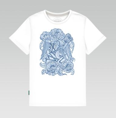 Вечная любовь , Детская футболка белая 160гр