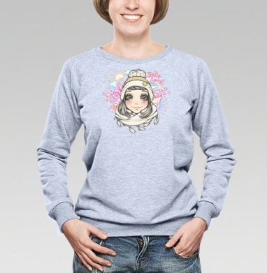 Весеннее настроение - Купить детские свитшоты для влюбленных в Москве, цена детских свитшотов дли влюбленных  с прикольными принтами - магазин дизайнерской одежды MaryJane