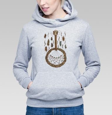 Ловец музыки - Купить детские толстовки музыка в Москве, цена детских толстовок музыкальных  с прикольными принтами - магазин дизайнерской одежды MaryJane