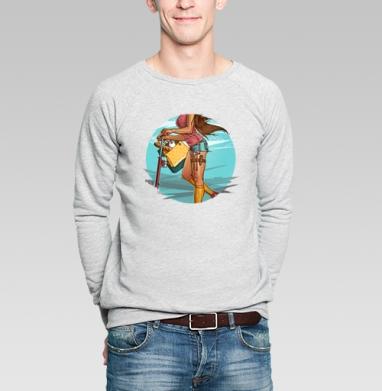 Она может все - Купить мужские свитшоты модные в Москве, цена мужских свитшотов модных  с прикольными принтами - магазин дизайнерской одежды MaryJane