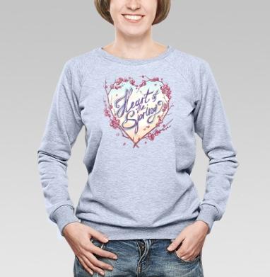 Сердце весны - Купить детские свитшоты нежность в Москве, цена детских свитшотов нежность  с прикольными принтами - магазин дизайнерской одежды MaryJane