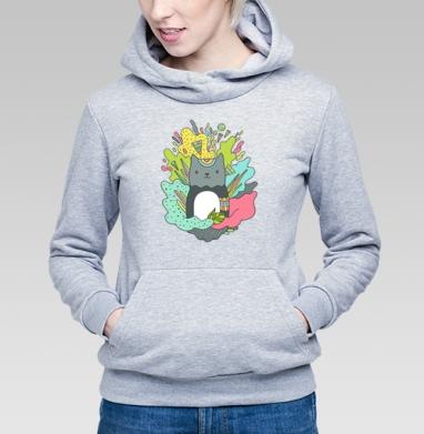 Котей - Купить детские толстовки абстрактные в Москве, цена детских толстовок абстрактных  с прикольными принтами - магазин дизайнерской одежды MaryJane
