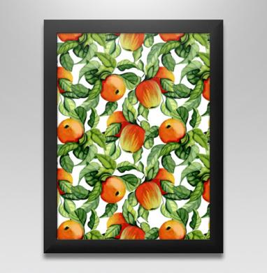 Яблоки, Постер в чёрной раме