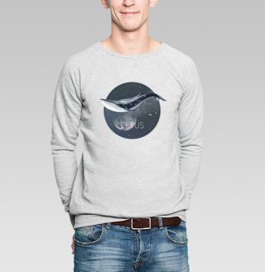 КИТ - Купить мужские свитшоты с рыбой в Москве, цена мужских свитшотов с рыбой  с прикольными принтами - магазин дизайнерской одежды MaryJane