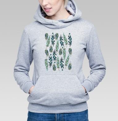 Перья - Купить детские толстовки паттерн в Москве, цена детских толстовок с паттерном  с прикольными принтами - магазин дизайнерской одежды MaryJane