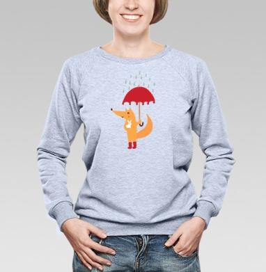 Лис и зайчик - Купить детские свитшоты с любовью в Москве, цена детских свитшотов с любовью  с прикольными принтами - магазин дизайнерской одежды MaryJane