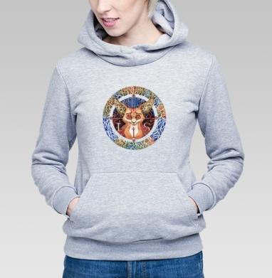 Тотемный лис - Купить детские толстовки этно в Москве, цена детских толстовок этно  с прикольными принтами - магазин дизайнерской одежды MaryJane