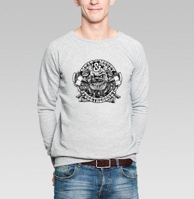 Мит энд мани - Купить мужские свитшоты модные в Москве, цена мужских свитшотов модных  с прикольными принтами - магазин дизайнерской одежды MaryJane
