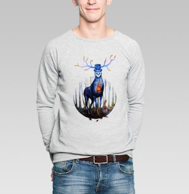 Лесное нечто - Купить мужские свитшоты с природой в Москве, цена мужских свитшотов с природой  с прикольными принтами - магазин дизайнерской одежды MaryJane