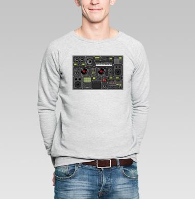 Музыка внутри - Купить мужские свитшоты с программистом в Москве, цена мужских свитшотов с программистом с прикольными принтами - магазин дизайнерской одежды MaryJane