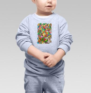 Безумный портал - Купить детские свитшоты абстрактные в Москве, цена детских свитшотов абстрактных  с прикольными принтами - магазин дизайнерской одежды MaryJane