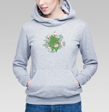 Вьюнок - Купить детские толстовки с природой в Москве, цена детских толстовок с природой  с прикольными принтами - магазин дизайнерской одежды MaryJane