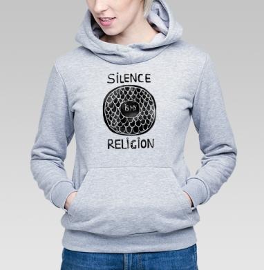 Молчание - моя религия - Купить детские толстовки морские  в Москве, цена детских  морских   с прикольными принтами - магазин дизайнерской одежды MaryJane