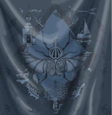 Жук-голиаф темно-синий - Крылья, Популярные