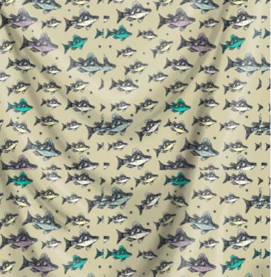 Летящие рыбы-караси хаки - рыба, Популярные