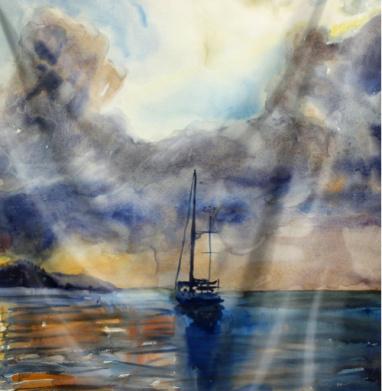 Яхта Тернера - пейзаж, Популярные