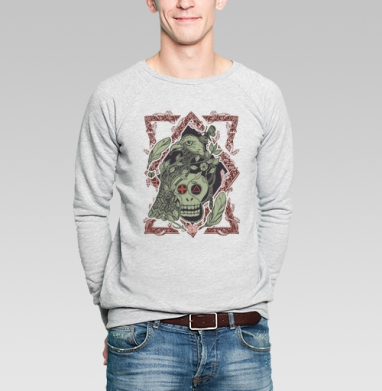 Птица бессмертия ф - Купить мужские свитшоты винтажные в Москве, цена мужских свитшотов винтажных  с прикольными принтами - магазин дизайнерской одежды MaryJane