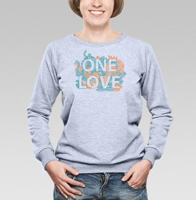ВАН ЛАВ (жен.) - Купить мужские свитшоты парные в Москве, цена мужских  парных  с прикольными принтами - магазин дизайнерской одежды MaryJane