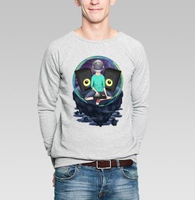 Нейронавт - Купить мужские свитшоты музыка в Москве, цена мужских свитшотов музыкальных  с прикольными принтами - магазин дизайнерской одежды MaryJane