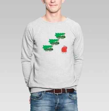 УРА - Купить мужские свитшоты Новый год в Москве, цена мужских свитшотов новогодних  с прикольными принтами - магазин дизайнерской одежды MaryJane