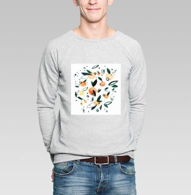 Мандариновый - Купить мужские свитшоты Новый год в Москве, цена мужских свитшотов новогодних  с прикольными принтами - магазин дизайнерской одежды MaryJane