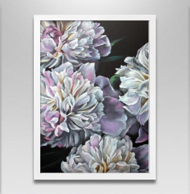 Меланхолия - Постер в белой раме, живопись
