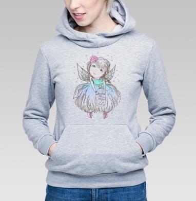 Феячу  - Купить детские толстовки с крыльями в Москве, цена детских толстовок с крыльями с прикольными принтами - магазин дизайнерской одежды MaryJane